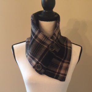 Scarf wool and cotton very soft thick neck warmer